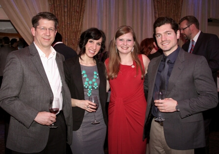 Guests at Winning Futures' 2013 Corks & Forks event.