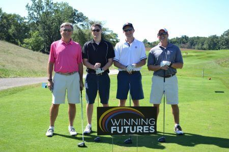 winning futures, mentoring program, michigan mentoring program, golf fundraiser