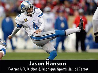 Jason Hanson Video