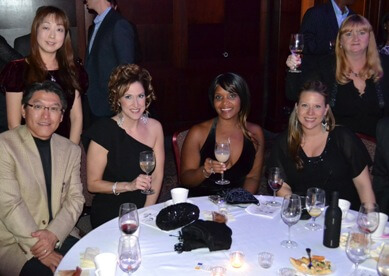 Some of the 300 guests who attended Winning Futures' 2012 Corks & Forks wine tasting.
