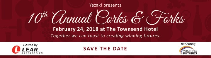 10th Annual Corks & Forks - Save the Date